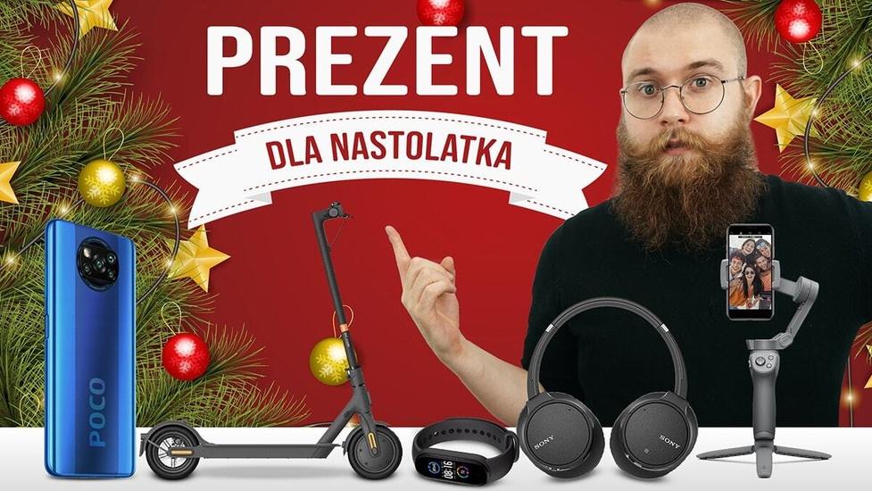 Prezent na święta dla nastolatka - Telefon, smartband, słuchawki?