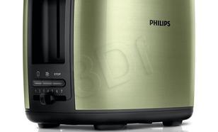 Toster Philips HD2628/10 (950W/Czarno-zielony)
