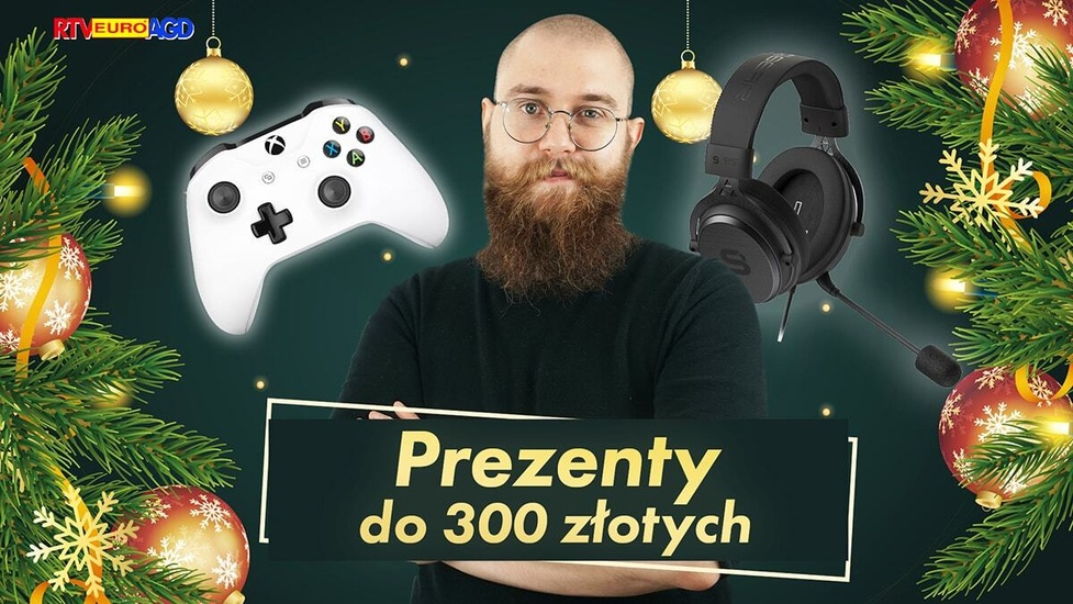 Gadżety do 300 zł na świąteczny prezent 2020 - Nie tylko audio!