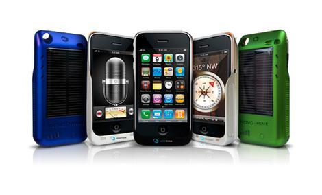 Novothink Solar Surge - bateria słoneczna dla iPhone'a i iPod touch