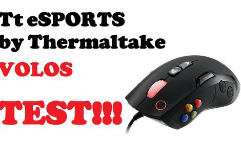 Volos - najnowsza myszka dla graczy od Tt eSPORTS by Thermaltake!