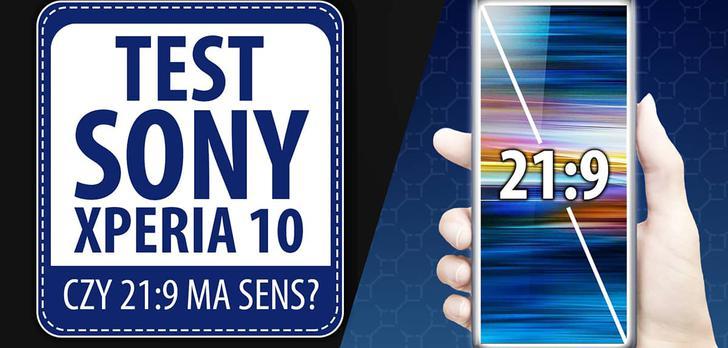 Test Sony Xperia 10 - Za wysokie progi na wysokie ceny