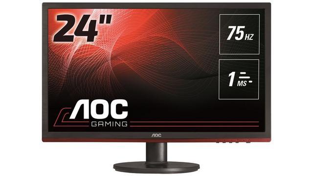 Monitory dla graczy do 1000 zł 2018 - AOC G2460VQ6