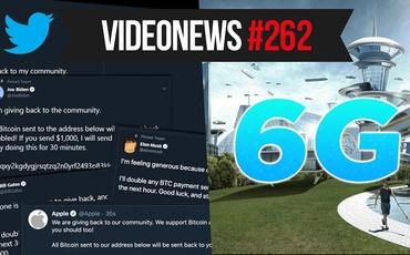 Włamanie na Twittera, plany na 6G, Huawei z banem - VideoNews #262