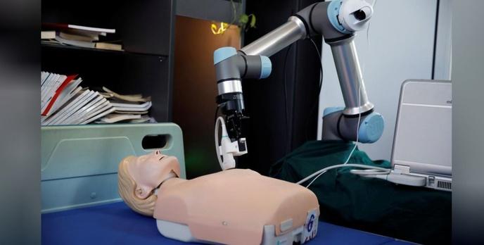 Czy chiński robot będzie ratował ludzkie życie w czasie pandemii?