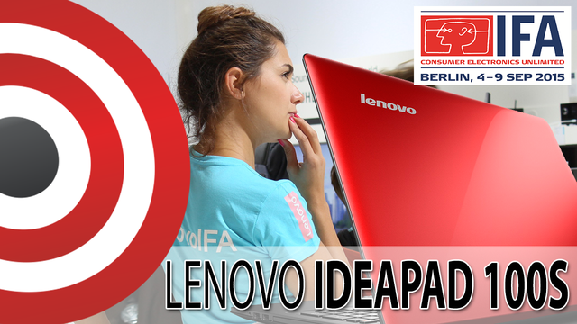 Lenovo Ideapad 100s z Windows 10 na IFA 2015
