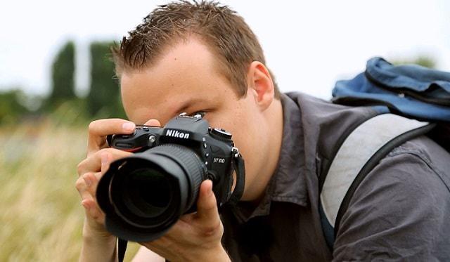lustrzanka firmy Nikon