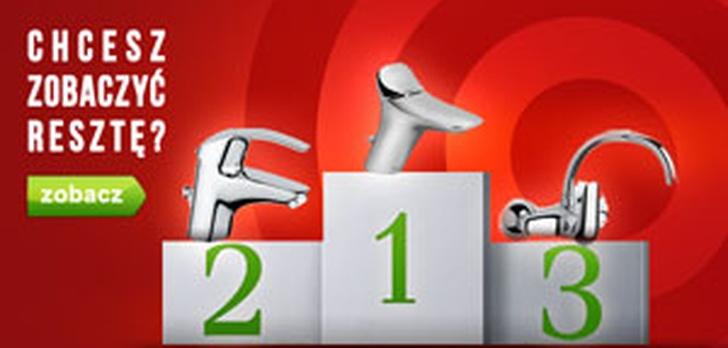 Ranking Baterii Umywalkowych - TOP 10 Maj 2015