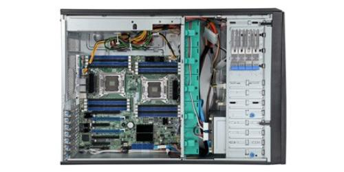 Intel P4308CP4MHEN obudowa tower 4U/S2600CP4/550W/8x HDD HS