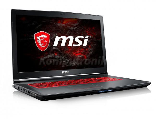 MSI GV72 8RD-046XPL - 500GB M.2 + 1TB HDD