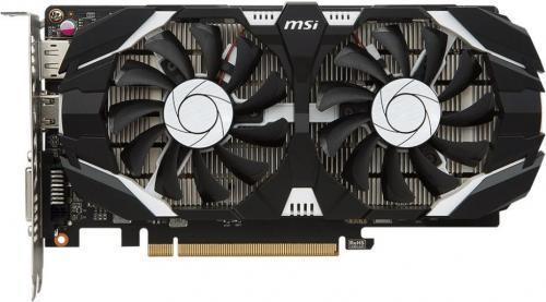 MSI GeForce GTX 1050 2GT OCV1, 2GB GDDR5, DisplayPort / HDMI / DL-DVI-D (GTX 1050 2GT OCV1)