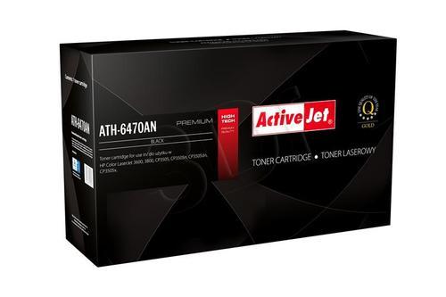 ActiveJet ATH-6470AN czarny toner do drukarki laserowej HP (zamiennik 501A Q6470A) Premium