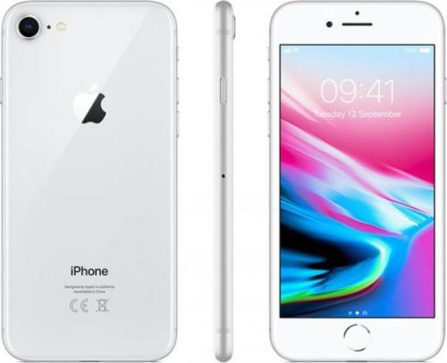 Apple iPhone 8 256GB Srebrny (MQ7D2GH/A)
