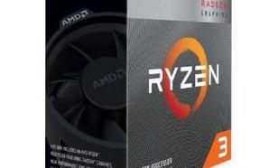 AMD RYZEN 3 3200G - RYZEN 3 3200G;RYZEN 3000; RYZEN 3;YD3200C5FHBOX