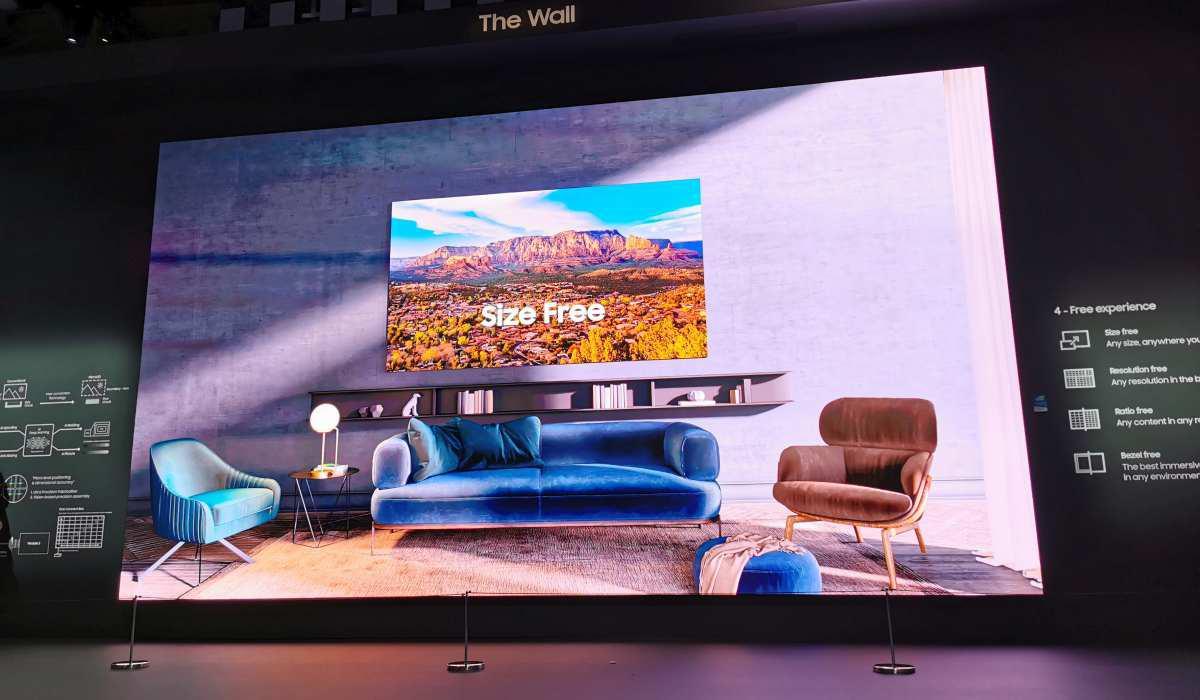 The Wall szokuje rozmiarem i jakością obrazu