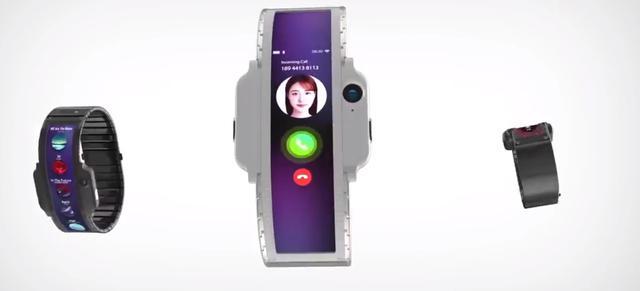 Nubia Alfa elastyczny smartwatch