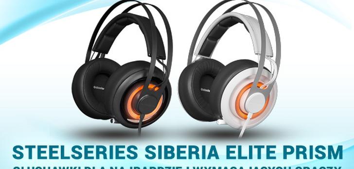 SteelSeries Siberia Elite Prism - Słuchawki Dla Najbardziej Wymagających Graczy