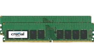 Crucial DDR4 2400 16GB (2x8GB) CL17 ECC