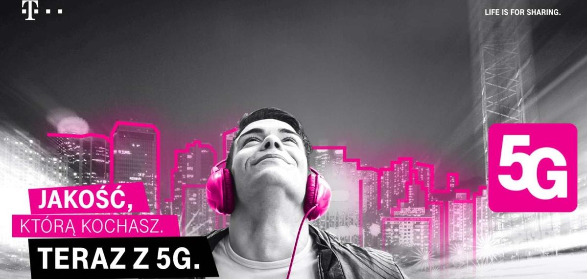 5G od T-Mobile oparto o częstotliwość 2100 MHz