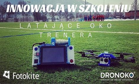 Dron Pomaga Szwajcarom Przygotować Się Do Meczu z Polską!