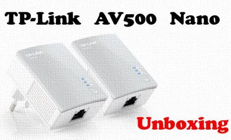 TP Link AV500 Nano TL PA4010 transmiter sieciowy [UNBOXING]