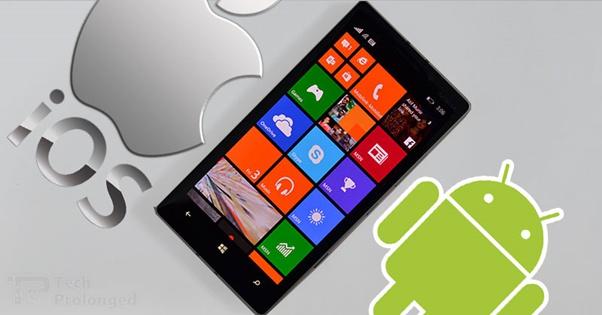 iOS i Windows Mobile 10