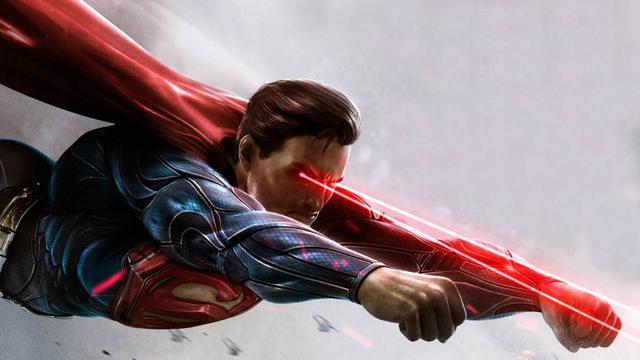 Człowiek jak Superman - Powstał laser wzrokowy