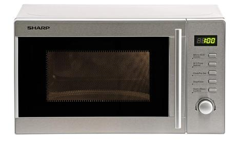 5 poziomów mocy – nowe kuchenki mikrofalowe Sharp