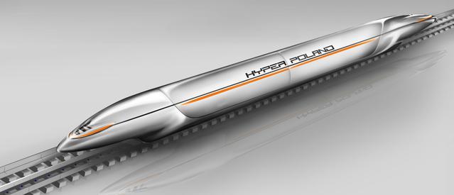 Hyper Poland stworzy kolej zdolną jechać nawet 600 km/h