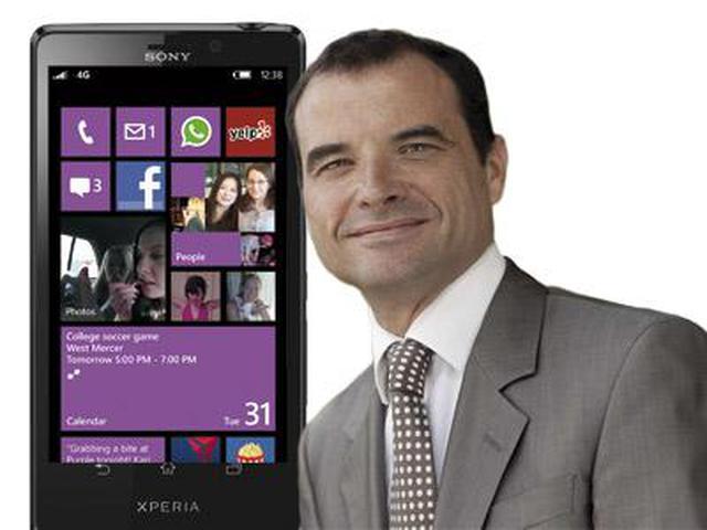 Smartfony Sony z Windows Phone 8