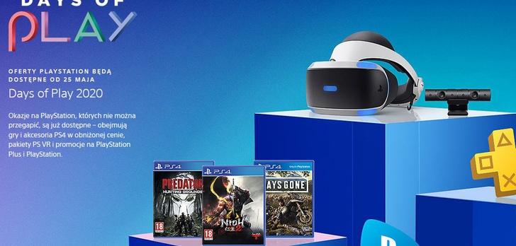 Days o Play – Ruszyły promocje na gry i akcesoria do PlayStation 4