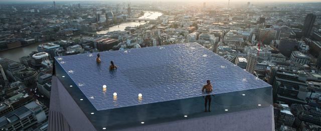 Infinity London pozwoli na kąpiele na szczycie wieży