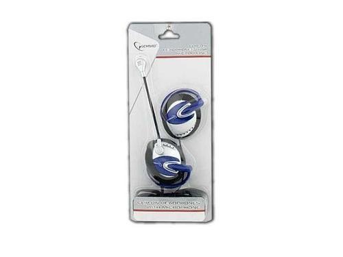 GEMBIRD Słuchawki z mikrofonem MHS-201 (klipsy na uszy)
