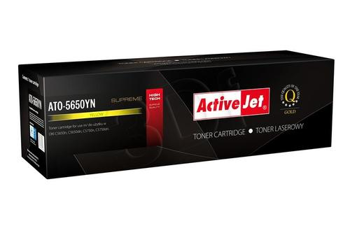 ActiveJet ATO-5650YN żółty toner do drukarki laserowej OKI (zamiennik 43872305) Supreme