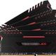 Corsair Vengeance LED DDR4, 4x8GB, 3000MHz, CL16, red (CMU32GX4M4D3000C16R)