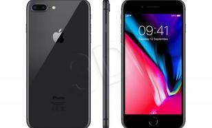 "Apple iPhone 8 Plus ( 5,5"" ; FullHD 1920x1080 ; 64GB ; 3GB ; szary"