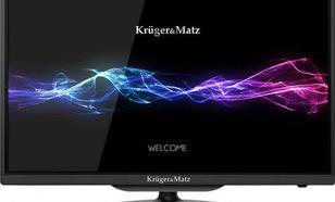 """Kruger & Matz 24"""" HD z tunerem DVB-T2 HD - KABEL HDMI GRATIS!"""