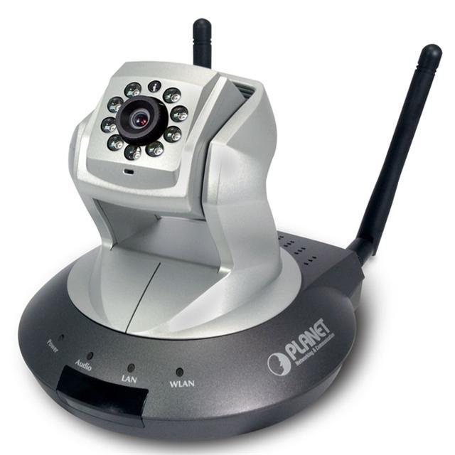 Bezprzewodowa kamera IP z funkcją Pan/Tilt marki PLANET!