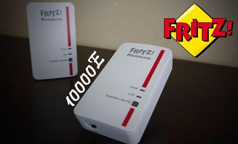 Fritz! 1000E - Test Gigabitowych Powerlinów AVM