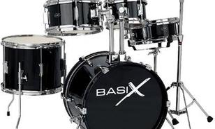 Basix Junior Drum-Set