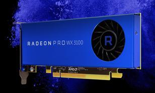 AMDRadeon Pro WX 3100