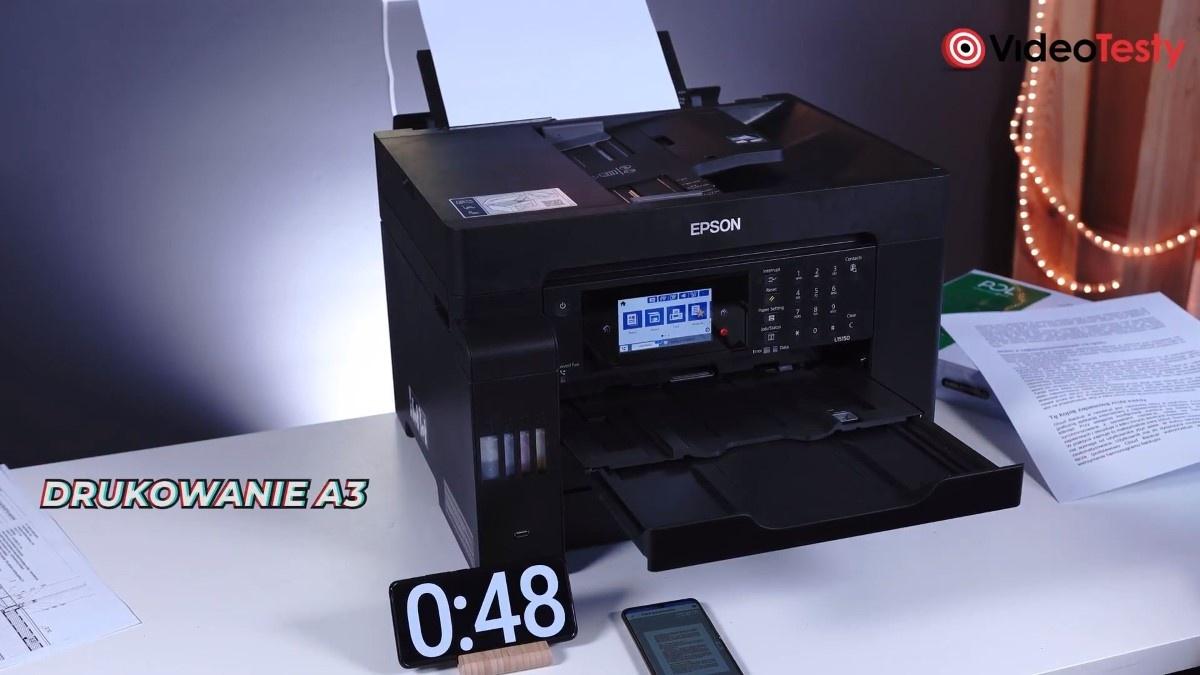 Drukowanie w A3 Epson L15150
