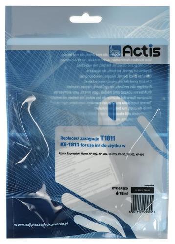 Actis KE-1811 tusz czarny do drukarki Epson (zamiennik Epson T1811) Supreme