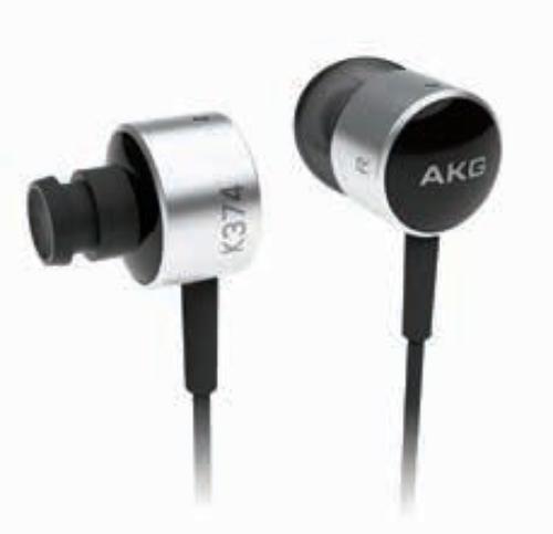 AKG K374 Czarne Słuchawki dokanałowe
