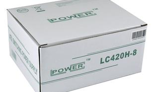 LC-Power ZASILACZ 420W LC420H-80 V 1.3 80mm 20/24pin 4x SATA 2x PATA