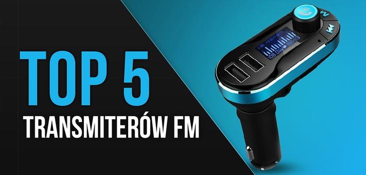 TOP 5 Transmiterów FM – Hity ze smartfona w głośnikach samochodu