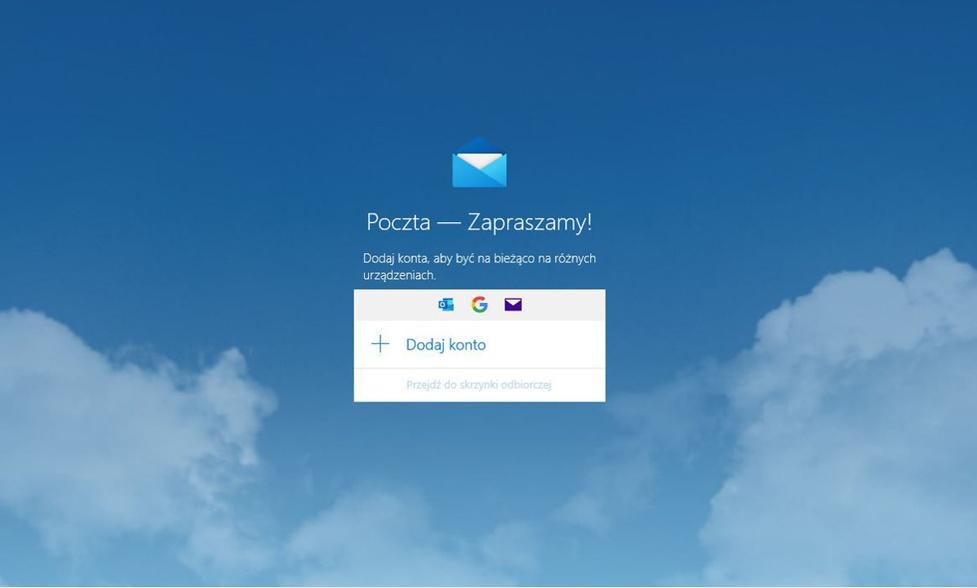 Poczta Windows i Outlook mają problemy z Gmailem