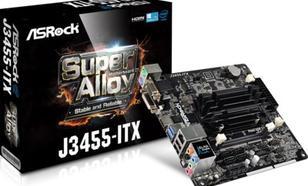 ASRock J3455-ITX J3455 2DDR3 USB3 HDMI/DVI-D/D-Sub mini ITX
