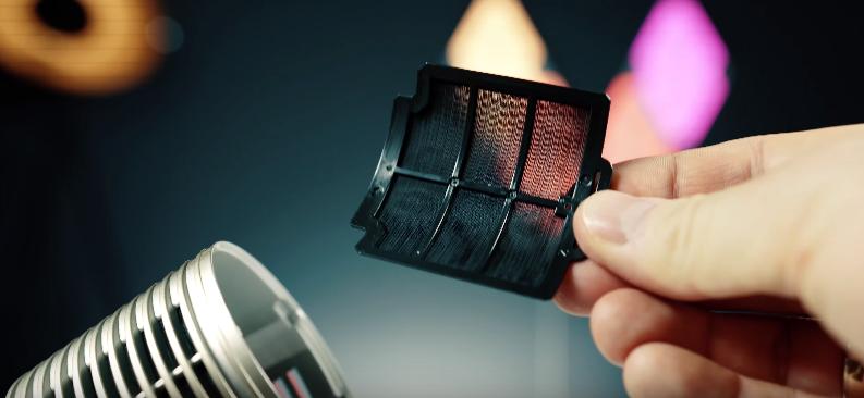 rodzaje filtrów w Sharp UJ-GC20
