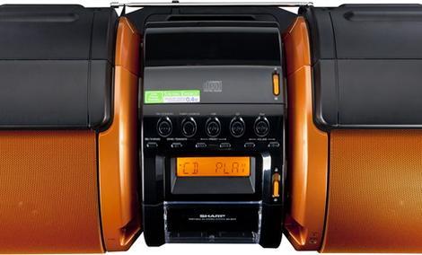 Sharp GX-M10 - oryginalny boombox o mocy 100 Watów